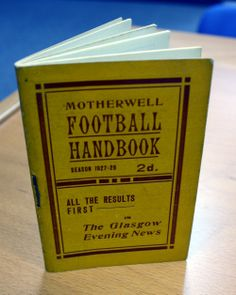 Motherwell Football Handbook 1927/8 season