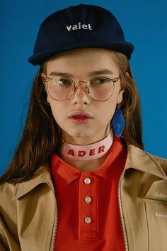 valet cap navy valet parking   www.adererror.com  #ader #fashion #brand #cap #white #accessory #buckle