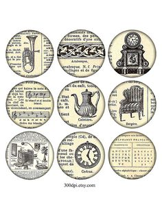 25 inch vintage printable tags large round images grunge by 300dpi