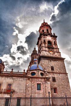 Catedral de Morelia, Michoacan, Mexico.