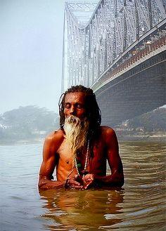 Divine Calcutta...river Ganges with Howrah Bridge