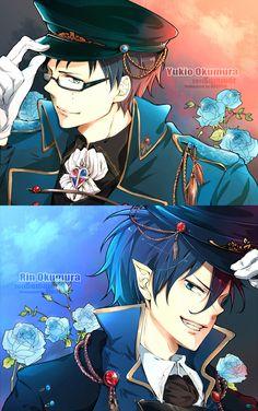 Blue Exorcist ~~ Uniformed exorcists Rin and Yukio