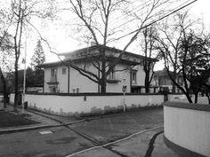 Atelierul de arhitectură Liliana Chiaburu: Casa arhitectului Octav Doicescu (1902-1981) în Parcul Jianu (str. Mircea Eliade nr. 2), 1939 Gazebo, Outdoor Structures, Park, Atelier, Kiosk, Pavilion, Cabana