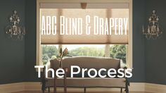 So you call or email ABC Blind & Drapery to start the process of ordering your custom window coverings...Now what?