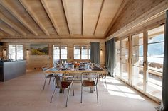 interior chalet swiss alps look at the flooring