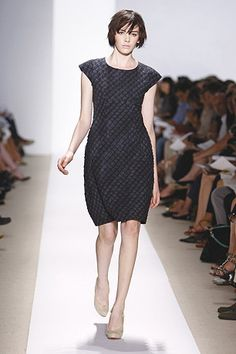 Peter Som shibori dress.