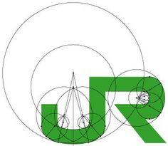 シンプルなデザインを手抜きと勘違いしてるわかってない人は黄金比って知ってるかな?? Logo Sign, Typography Logo, Typography Design, Layout Design, Icon Design, Logo Process, Grid, Advertising Design, Visual Advertising