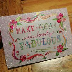 katiedaisy @katieisadaisy Instagram photos | make today fabulous card