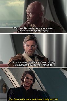 I wish this happened in the film, because Anakin's prank would've been HILARIOUS and lightened up the film!!!!