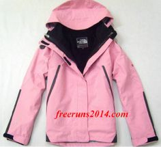 The North Face Triclimate 3 In 1 Jacket Womens UK Coatst Pink   #Pink #Womens #Sneakers