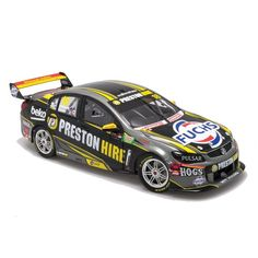 1:18 scale Biante Lee Holdsworth and Sebastian Bourdais #18 Preston Hire Walkinshaw Racing VF Commodore 2015 Castrol Gold Coast 600. Model features opening doors and bonnet.  Limited Edition of 504