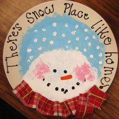 Starts with a paper plate! Cute gift ideas for parents (Christmas Activities First Grade) Christmas Presents For Parents, Student Christmas Gifts, Christmas Crafts For Gifts, Kids Christmas, Craft Gifts, Diy Gifts, Christmas Plates, Christmas Concert, Christmas 2016