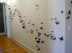 Beer Can Butterflies by Paul Villinski via Aparment Therapy. How cool would it be to have a wall of butterflies?
