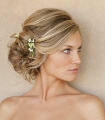 Image result for long hair side updo