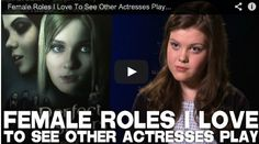Female Roles I Love To See Other Actresses Play by Georgie Henley via http://www.filmcourage.com/.  PERFECT SISTERS in theaters April 11th! https://www.facebook.com/PerfectSisters   More video interviews at https://www.youtube.com/user/filmcourage  #film #actress #narnia #georgiehenley #actingadvice #actor #acting #filmandtelevision