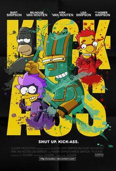 Simpsons Kick Ass.