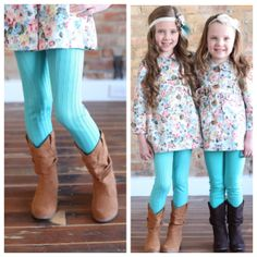 Cowgirl Boots /  floral jacket girls boutique