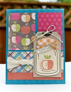 Perfectly Preserved stamp set and Cannery Framelits Die. Card by Jenn Picard