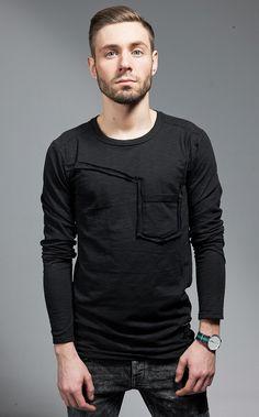 Longsleeve, moda męska, modomen, polski projektant, ChoSo - casualowa moda dla mężczyzn
