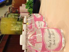 Water bottle party favor #baptism #partyfavor