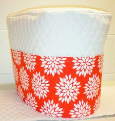 Check out this item in my Etsy shop https://www.etsy.com/listing/222538522/white-orange-starburst-quilted-cover-for