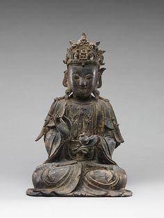 Bodhisattva    Period:      Ming dynasty (1368–1644)