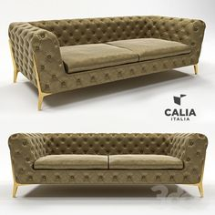 Диван Belle Epoque 1014 chesterfield от Calia Italia