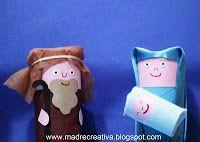 #Nataleincasatrippando #MadreCreativa: #Presepe fai da te per la Storia di #Natale