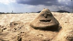 Art in sand!