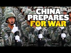 "China ""Prepares for War"" With US - YouTube"