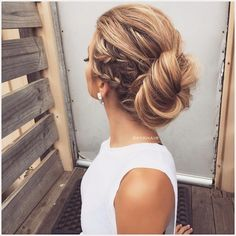 Watch our previous post to see how we created this look step by step!    Interested In learning the elastic band hair tie technique ? #comingsoon #staytuned  New Tutorial in an Hour   #MelbourneHairstylist #kykhair #braids #hair #hairup #jenatkinhair #modernsalon #americanstyle #hairsandstyles #laurag_143 #hudabeauty