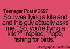 I will do this next time I fly a kite(;