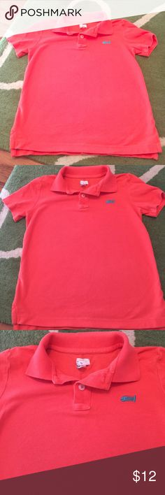 Crewcuts critter polo shirt Perfect condition!  Crewcuts for jcrew factory polo shirt with embroidered fish. J. Crew Factory Shirts & Tops Polos