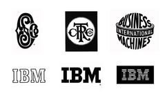 Famous Logos Over Time - IBM