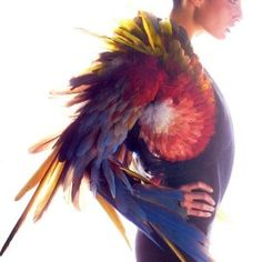 The Feather Work of Nelly Saunier: Gaultier's Plumassière Extraordinaire