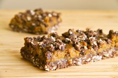 Pumpkin Pie Oatmeal Bars