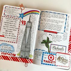 oh.my.goodness what a beautiful diary page