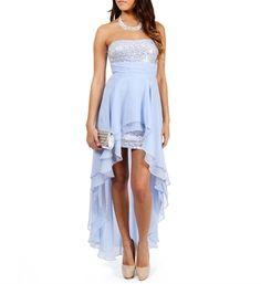 Tyson-Dusty Blue Prom Dress