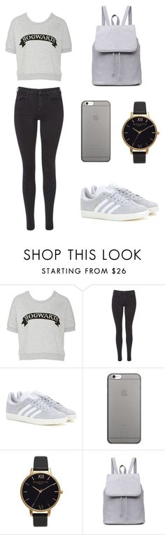 """""""Nice style for every Time 💕"""" by blonde-fashion-girl ❤ liked on Polyvore featuring Maison Scotch, adidas, Native Union and Olivia Burton"""