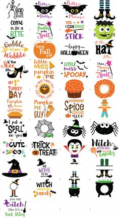 Jingle Jingle SVG File Bundle has Christmas SVG Files that are perfect for Christmas crafts and diy home decor! Christmas SVG files are great for making v Halloween Vinyl, Halloween Quotes, Halloween Signs, Fall Halloween, Halloween Crafts, Halloween Shirts Kids, Halloween Clipart, Scary Halloween, Free Font Design