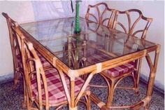 Cane Furniture, Dining Room Furniture, Online Furniture, Dining Chairs, Dining Table, Outdoor Furniture, Buy Computer, Outdoor Tables, Outdoor Decor