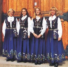 FolkCostume&Embroidery: Overview of Norwegian costume, part 4 The North Folk Costume, Costumes, Norwegian Clothing, Medieval Dress, Traditional Dresses, Norway, Embroidery, Ancestry, Stitch