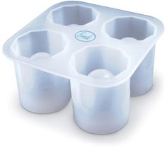 Fred & Friends Cool Shooters Ice Shot Molds