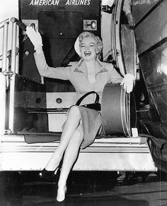 Marilyn Traveling in Style
