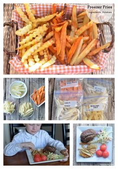 Quick and Easy Freezer Fries - Super Healthy Kids Freeze Ahead Meals, Healthy Freezer Meals, Freezer Food, Super Healthy Kids, Super Healthy Recipes, Batch Cooking Freezer, Cooking Recipes, Dinners For Kids, Kids Meals