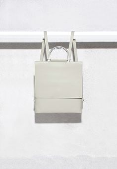 [ building block ]: rucksack in haze