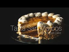 San Marcos Cake, traditional from Castilla y León. Made with Genovese sponge cake, whipped cream, cocoa cream, sweet egg yolk and almonds. Making Whipped Cream, Cake Cutters, Cake Youtube, Traditional Cakes, Sponge Cake, No Bake Cake, Cocoa, Almond, Bakery