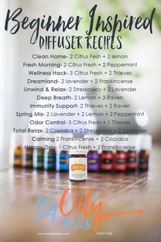 to diffuse essential oils and not screw it up. These easy diffusing essential oil recipes will have any beginner essential oil user diffusing like a pro. These diffuser blends smell amazing and make my house smell like a spa. Young Essential Oils, Essential Oils Guide, Essential Oil Uses, Essential Oil Beginner, Thieves Essential Oil, Doterra, Essential Oil Diffuser Blends, Purification Essential Oil, Frankincense Essential Oil