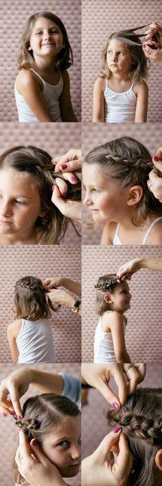 Trenzas para niñas