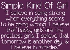 Simple Kind Of Girl font by ByTheButterfly - FontSpace Tomorrow Is Another Day, Cute Fonts, Believe In Miracles, Handwritten Fonts, Pen And Paper, Happy Girls, Teacher Newsletter, Free Design, Wise Words